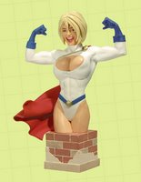 Power Girl Bust