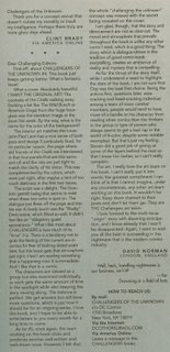 My letter in The Challengers of the Unknown #9