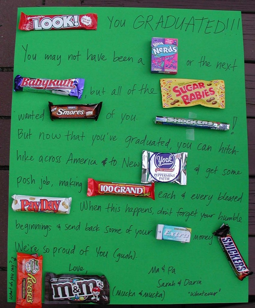 nielson news candy bar poster