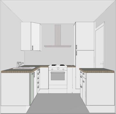 Tim S Appartement Keuken Eerste Opstelling