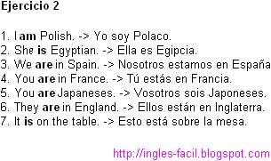 Curso De Inglés Aprende Inglés Lección 2 El Verbo To Be