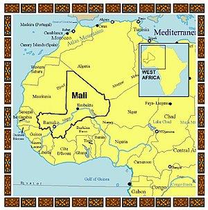 kart over mali Sigurd har lyst på en kamel: august 2006 kart over mali