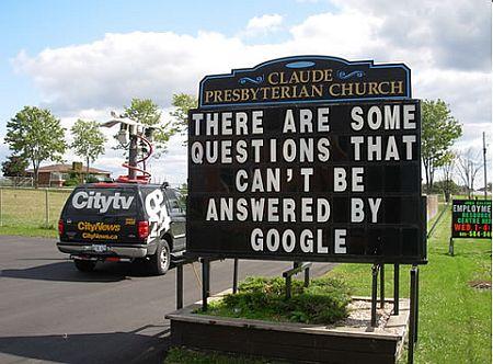 Mensajes iglesia Google