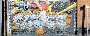 grafiti de bansky