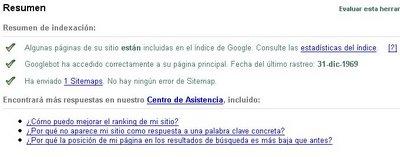 sitemap de google