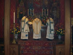 Mass at the High Altar