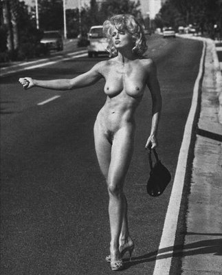 Madonna nude hitch-hiking (with thanks to libertine di homo, see comment)