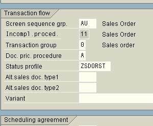 transactions sap sd
