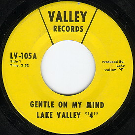 The Fringe Forgotten 45 S The Lake Valley Four