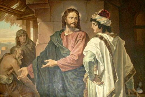 Resultado de imagen de jesus joven rico