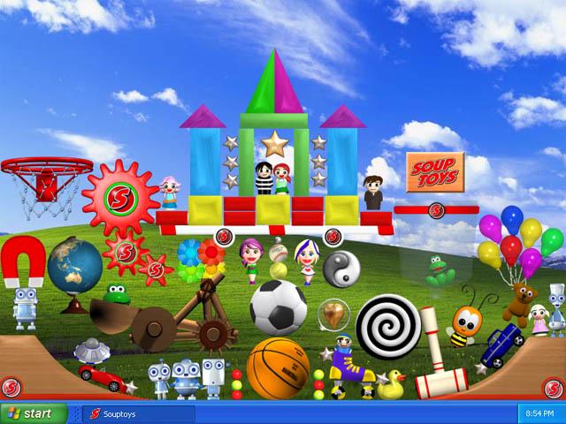 desktop toys 2 souptoys