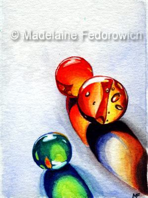 Lost Marbles ACEO