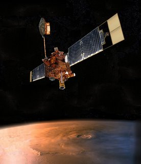 NASA intenta restablecer contacto con Mars Global Surveyor