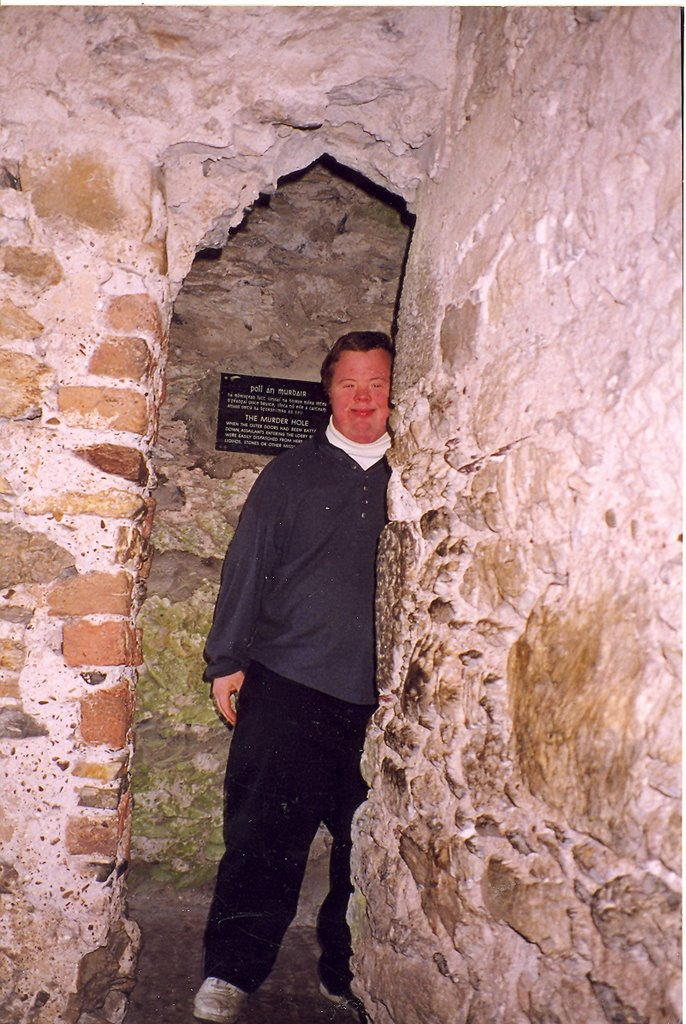 Blarney Copsn Robbers And Murder Hole on Castle Portcullis