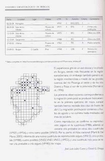 Ornithological Yearbook of  Burgos. Volume 1