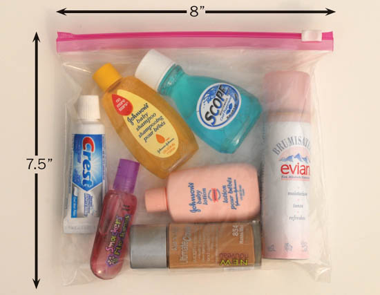 Having Just Bought And Left Behind Some Non Explosive Toothpaste Similar Items In Virginia I Don T Check Bags Regardless Of How Long Ll Be On The