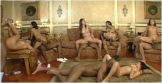 Asian And Black Orgy 101