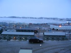 Iqaluit at midnight