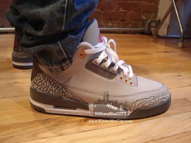 best service c5253 9151f Trainer Watch Blog: Nike Air Jordan III - Cool Grey