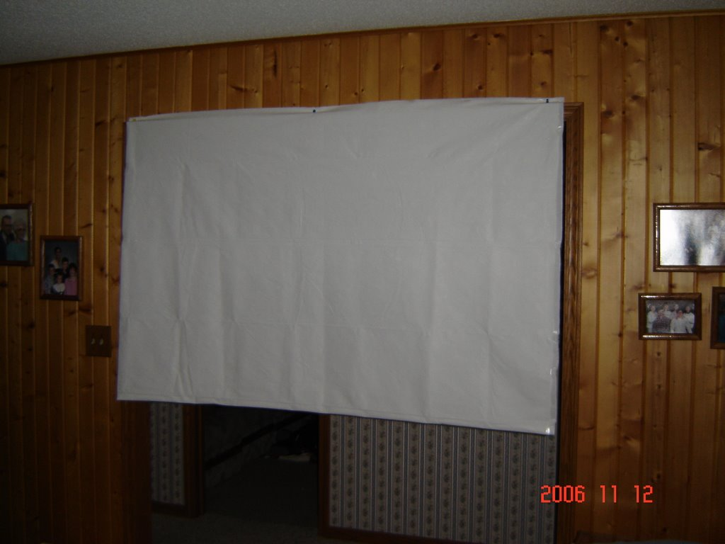 Homemade Rear Projection Screen - Homemade Ftempo