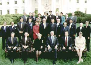 List Of Bill Clinton S Cabinet Members | memsaheb.net