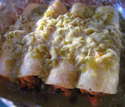 Sweet Potato Black Bean Vegetarian Enchiladas Recipe for Thanksgiving