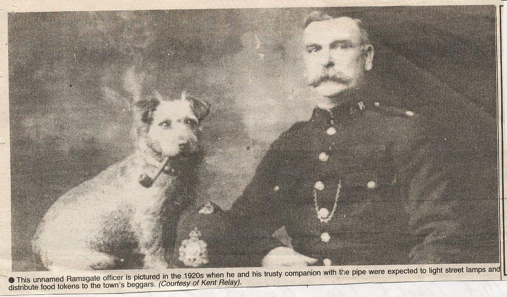 UK Police Dog history: Kent Police Dog?