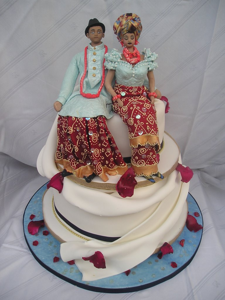 nigerian igbo traditional wedding cakes naija tosan jemide the cake master 17847