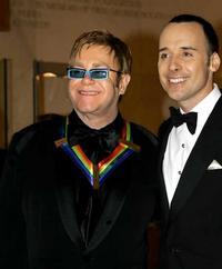 Elton with David Furnish