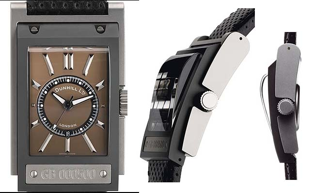 watchismo times motorities dunhill carwatch titanium ceramic carwatch