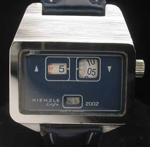 Kienzle 'Life 2002' Jump Hour from the 1972 Lifestyle