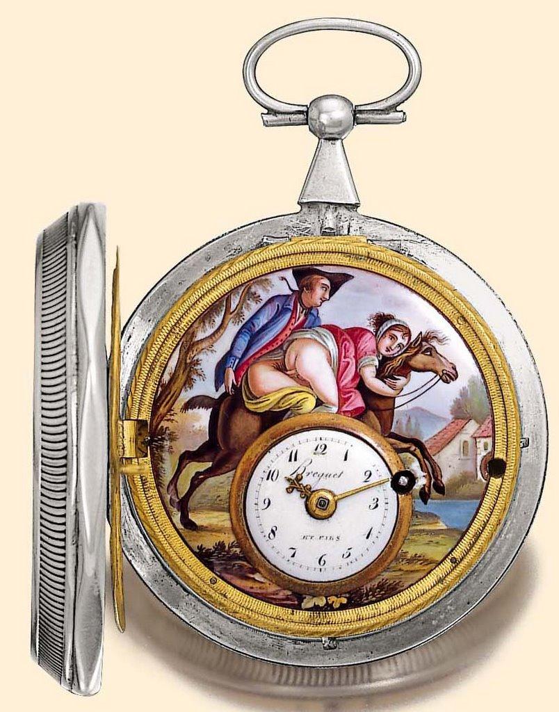 NSFW! Debbie Does Switzerland - Erotic Automaton (Antique Porn) Watches