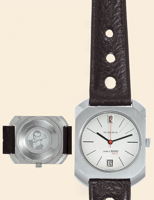 1960's James Bond Gadget Watches by Gilbert & Moeris