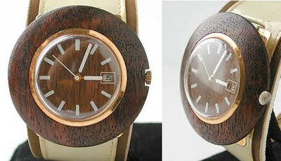 I've got a Woody - 1960's Swank Wood Watch