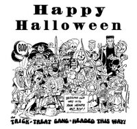 public domain and Halloween or Trick or Treat and Department of Defense or Happy Halloween.