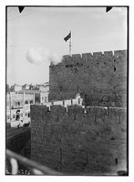 Around the city wall [Jerusalem], Library of Congress Prints and Photographs Division, REPRODUCTION NUMBER: LC-DIG-matpc-02518