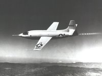 The Bell X-1 rocket research plane was, of course, the world's first aircraft to break the 'sound barrier'