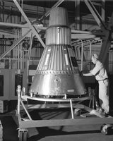 Project Mercury - Capsule #2, Creator/Photographer: Ernie Walker NASA.