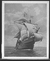 Santa Maria, REPRODUCTION NUMBER: LC-D401-22452, Library of Congress, Prints & Photographs Division