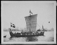 The Viking ship, REPRODUCTION NUMBER: LC-D4-21183, Library of Congress Prints and Photographs Division