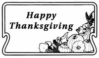clip art or public domain and Thanksgiving or Be Thankful and Department of Defense or Happy Thanksgiving 2.