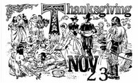 Thanksgiving November 23, American Forces Information Service.