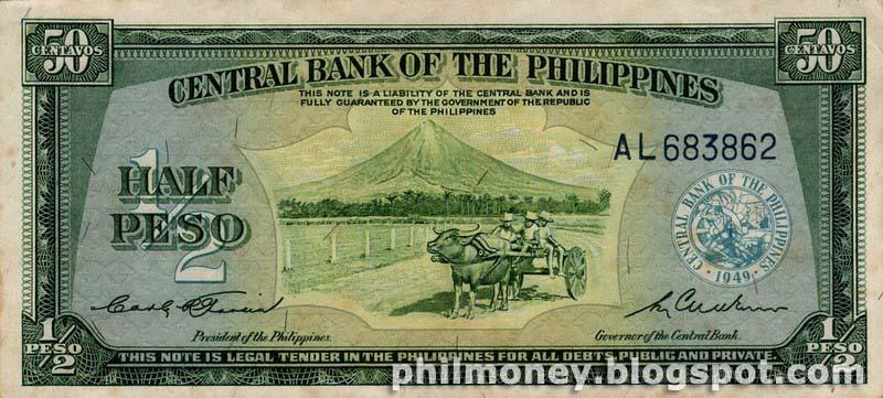 Peso Coins And Banknotes: Half Peso