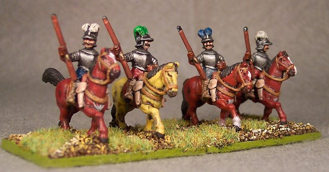 Mounted Arquebusiers