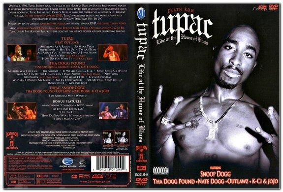 dvd 2pac live