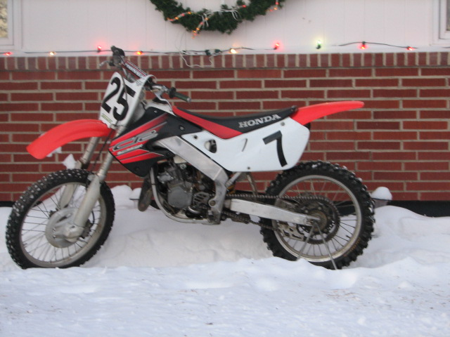 1999 cr125 FOR SALE!!: 1999 cr125 For Sale