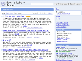 Google Groups beta