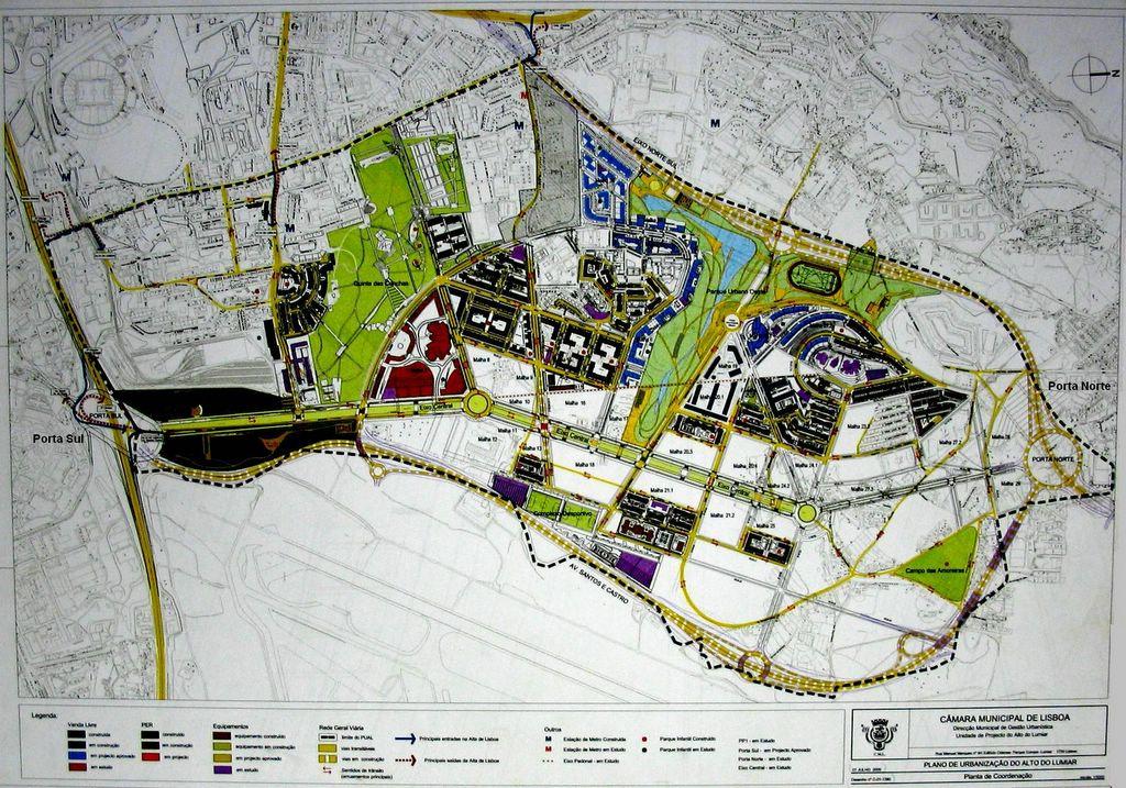 alta de lisboa mapa Viver na Alta de Lisboa: Av. Santos e Castro   o que falta alta de lisboa mapa