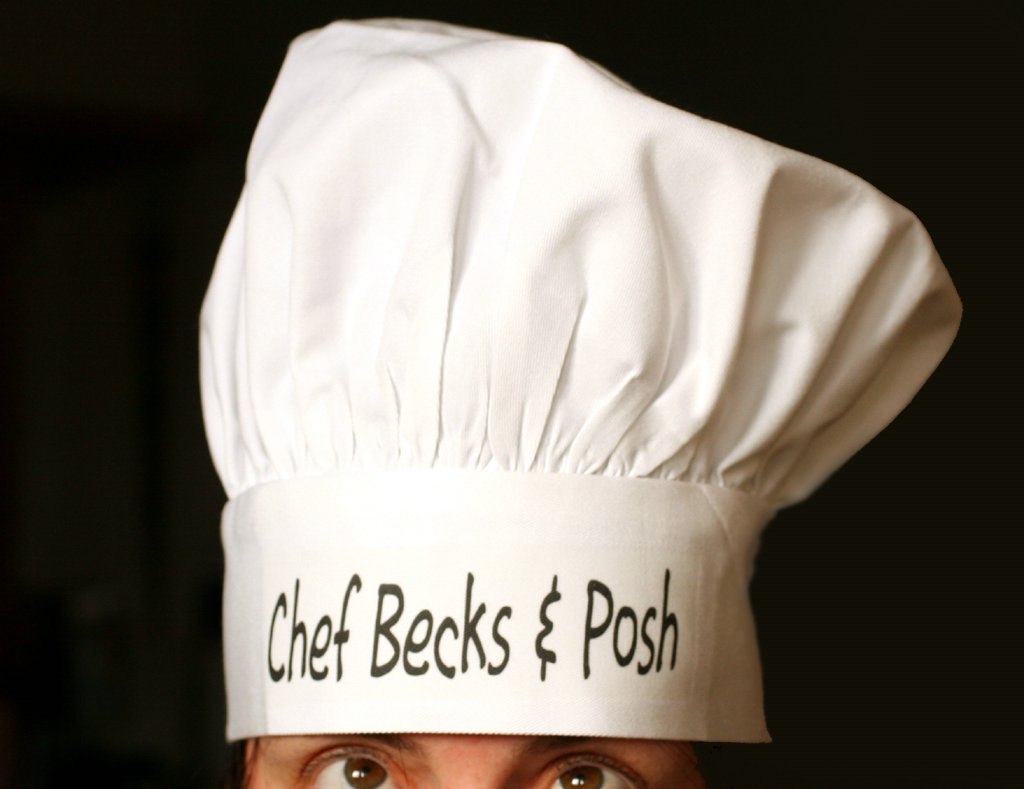 Real Chefs Hat Earlier  I received an