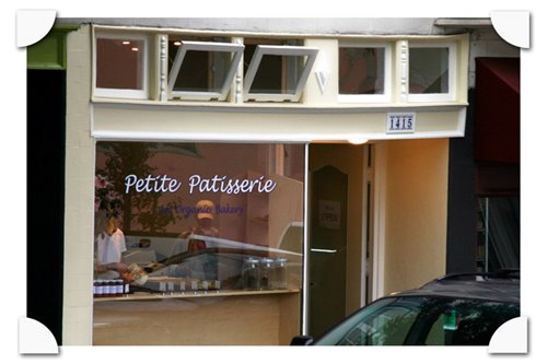 photograph picture of petite patisserie organic pastry shop and baker 1415 18th street san francisco